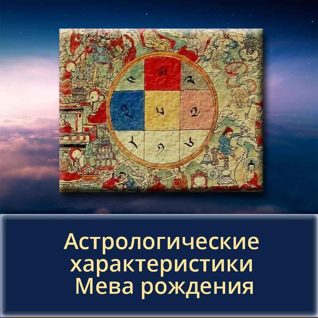 Астрологические характеристики Мева рождения